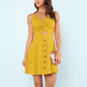 Dresses - Yellow Summer Dress